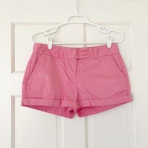 VINEYARD VINES shorts size 4 pink dayboat cotton